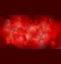 abstract red blurred background vector image