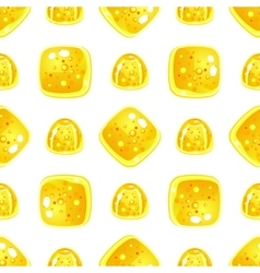 Cute candy pattern vector