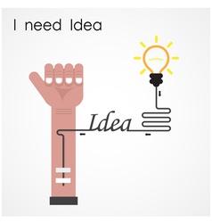 I need idea concept vector