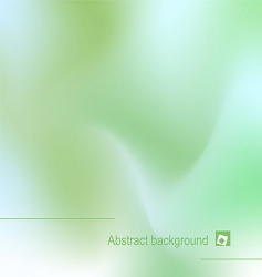 illustration of abstract green backgroun vector image