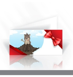 Invitation Card Design Template vector