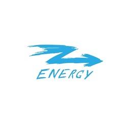 Logo arrow energy vector