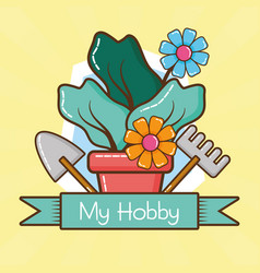 My hobby related vector