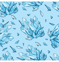 seamless background of diamonds vector image