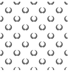Victory wreath pattern seamless vector