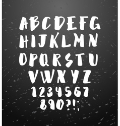 alphabet Hand drawn letters vector image vector image