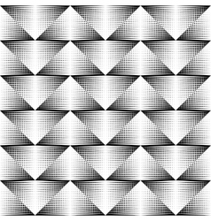 Geometrical pattern black and white color vector image vector image