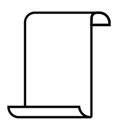 paperhangings icon vector image vector image
