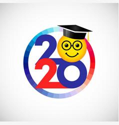 2020 round emoji vector