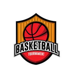 Basketball icon logo vector