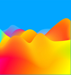 bright abstract colorful background vector image