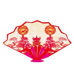 Chinese zodiac year dog - range vector