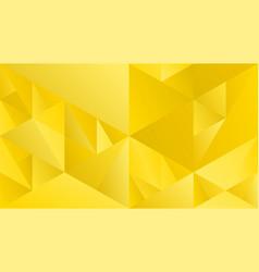 Minimal geometric gradient mosaic triangular vector