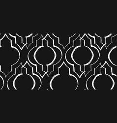 Ramadan kareem textured seamless pattern vector