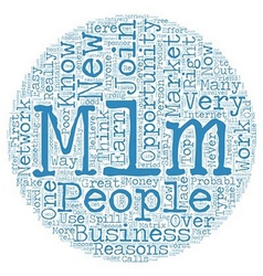 Poor reasons to get involved in mlm text vector