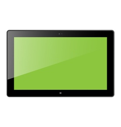 Win Tablet vector image