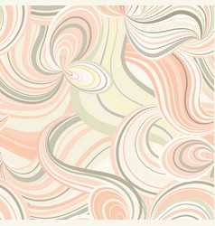 abstract wave line seamless pattern grid swirl vector image