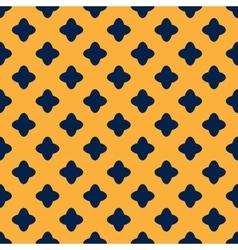 Cross geometric seamless pattern 7309 vector image