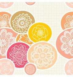 Cutesy scrapbook pattern vector
