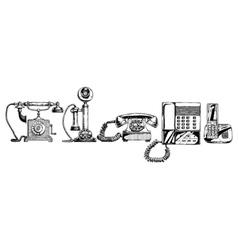 Evolution set of telephone vector
