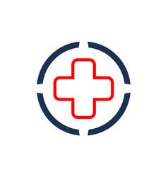 medical logo concept logo icon vector image