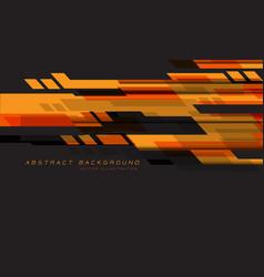 orange red grey geometric speed technology vector image