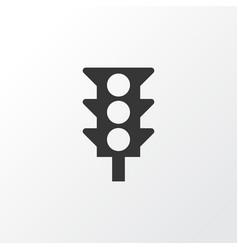 traffic light icon symbol premium quality vector image