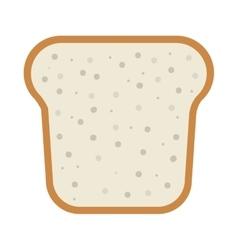 Slice of loaf vector