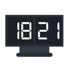 board score american football icon vector image vector image