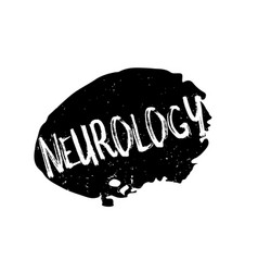 neurology rubber stamp vector image vector image