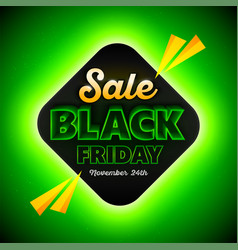 black friday sales background template special vector image