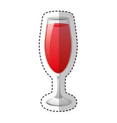 cup drink beverage icon vector image