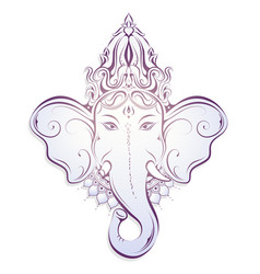 Ganesha decorative vector