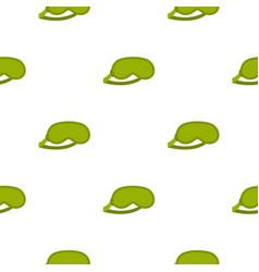Green sleeping mask pattern seamless vector