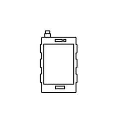 Pda icon vector
