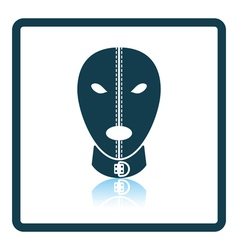 Sex mask icon vector