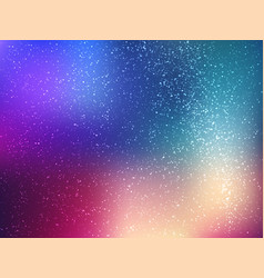 Space background with stars universe vector