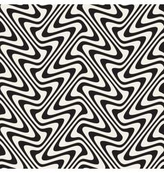 Wavy Lines MarblingEffect Seamless Black vector