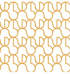 circle seameless pattern vector image vector image