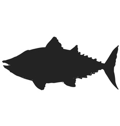 tuna vector image