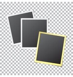 Paper Photo Frames vector image vector image