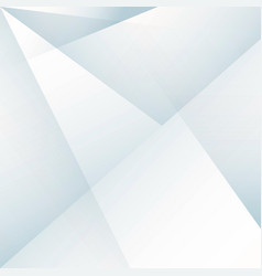 abstract geometric white and blue gradients vector image