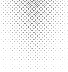 Abstract monochrome curved star pattern background vector image