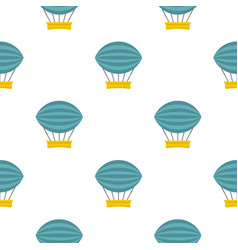 Aerial transportation pattern seamless vector