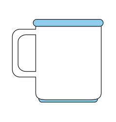 cup or mug icon image vector image