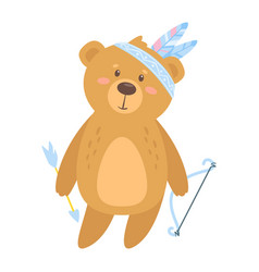 cute teddy bear vector image