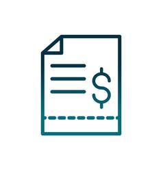 Economy business purchase order money gradient vector