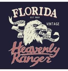 Eagle is a heavenly ranger vector