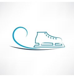 One skate vector image vector image