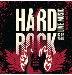 Hard rock vector